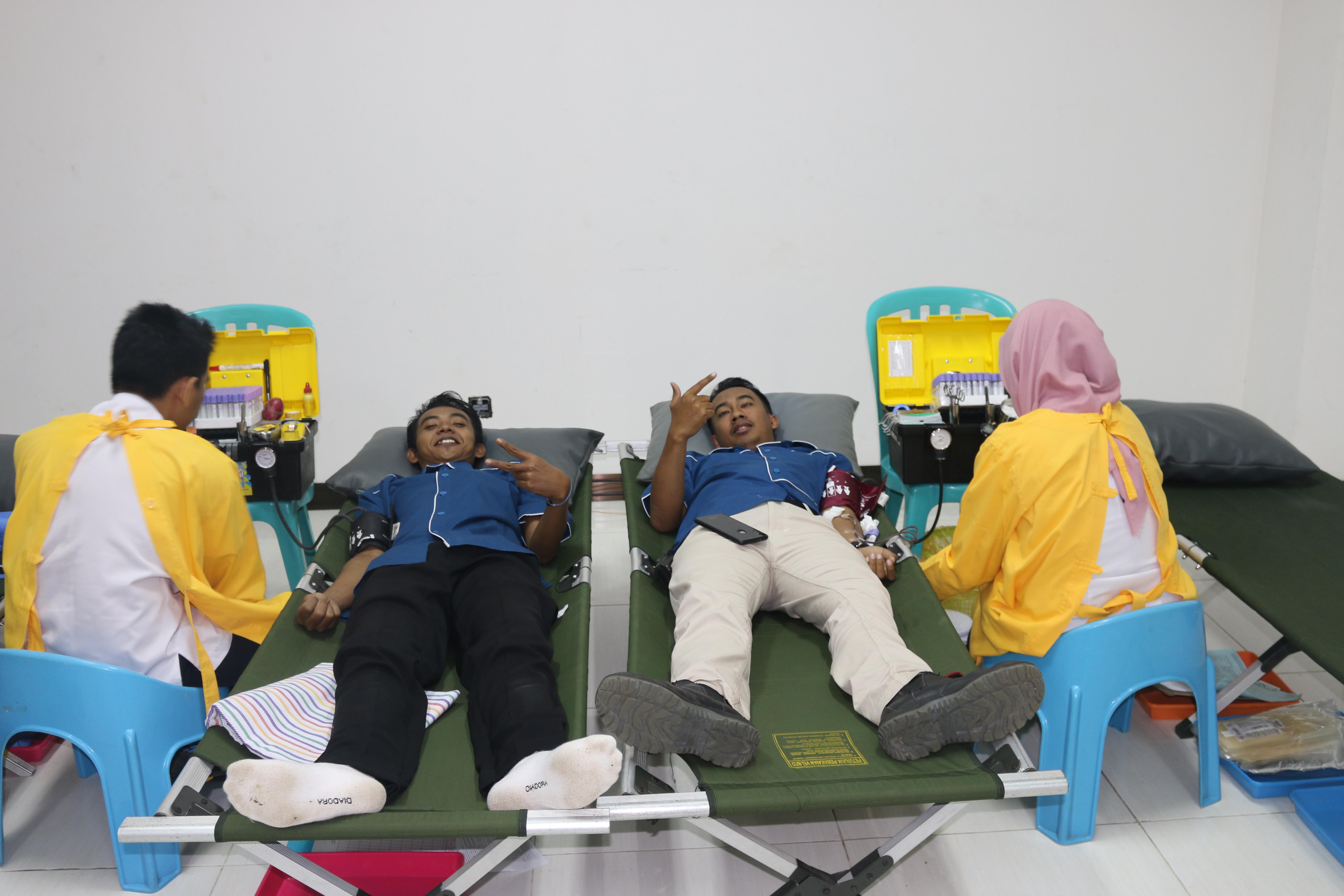 HSE PT IGG Kembali Ajak Karyawan Mengikuti Aksi Donor Darah
